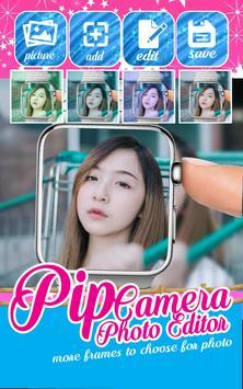 Selfie PIP Camera Photo Editor Pro screenshot 1