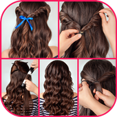 Learn Best Hairstyles Step By Step icon
