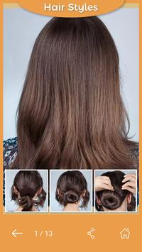 Learn Best Hairstyles Step By Step screenshot 7