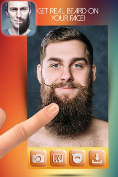 Beard Salon Photo Montage poster