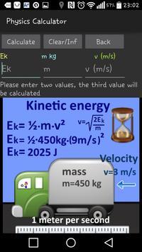 Physics calculator formula apk screenshot