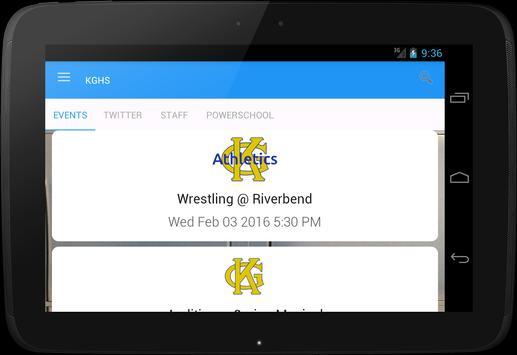 King George High School apk screenshot