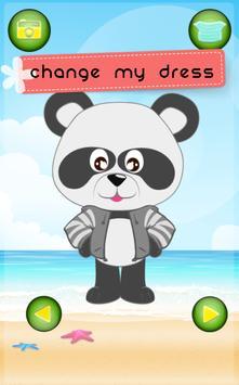 Panda Popular Dress Up Free screenshot 2