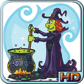 Witch Bubble Shooter Lite icon