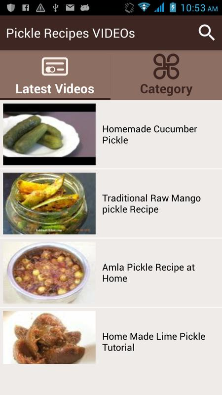 Pickle recipes videos apk download free entertainment app for pickle recipes videos poster pickle recipes videos apk screenshot forumfinder Image collections