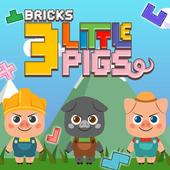 Three Little Pigs Block puzzle icon