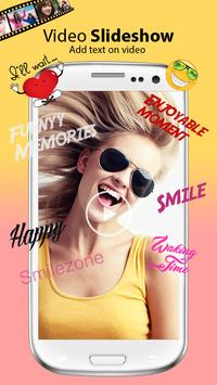 Photo Slideshow with Music & Text/Stickers/Frames apk screenshot