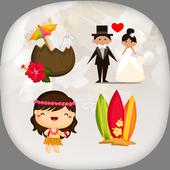 Keyboard Emoji & Stickers for Gboard, Whatsapp icon