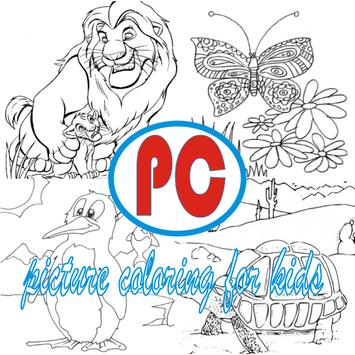 Picture Coloring poster