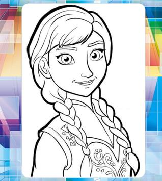Picture Princes For Coloring screenshot 4
