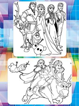 Picture Princes For Coloring screenshot 6