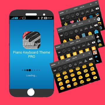 Piano Keyboard Theme PRO apk screenshot