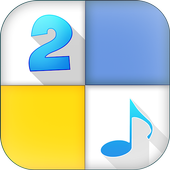Piano tap 2 : music tiles game icon