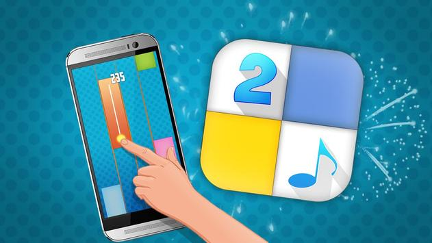 Piano tap 2 : music tiles game apk screenshot