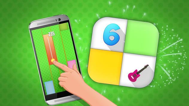 Piano Tiles 6 : magic music tiles game screenshot 1