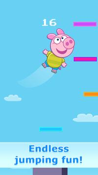 Jump Up - with Piggy Free poster