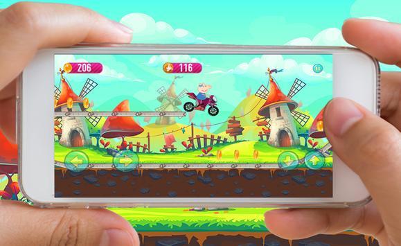 Peppy Pig Adventure Motobike apk screenshot