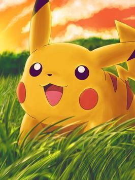 Pikachu 3D Wallpaper Poster
