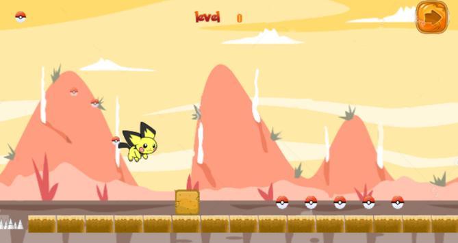 Super Pikachu Monster Jungle apk screenshot