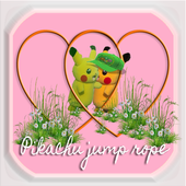 Pikachu jump rope icon