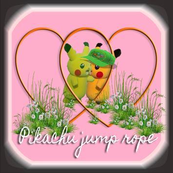 Pikachu jump rope poster