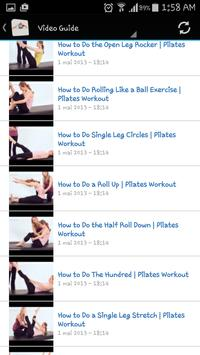 Pilates apk screenshot