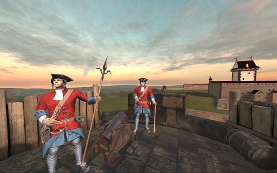 Narva Battle AR/VR -  Simulator 18th century guns screenshot 13