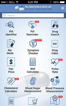 Pill Identifier and Drug list apk screenshot