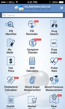 Pill Identifier and Drug list poster