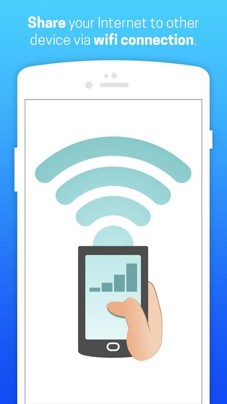 how to make wifi hotspots with mobile data