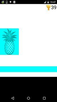Płytki ananas gry plakat