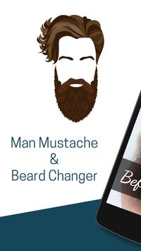 Man Mustache Hair Changer poster