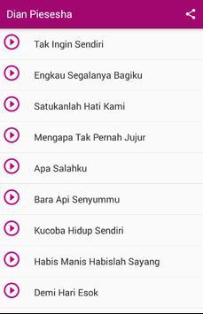 Dian Piesesha Top MP3 apk screenshot