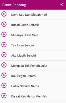 Pance F Pondang Lagu MP3 apk screenshot