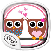 Pink OWL Wallpaper icon