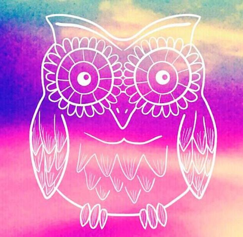 Pink OWL Wallpaper poster Pink OWL Wallpaper screenshot 1 ...