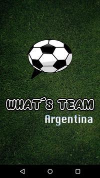WhatsTeam Argentina poster
