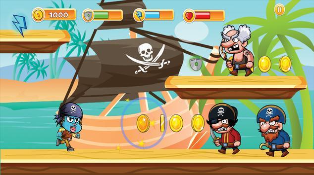 Pirate Gumball Run screenshot 2