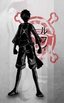 Pirates Luffy Wallpaper poster