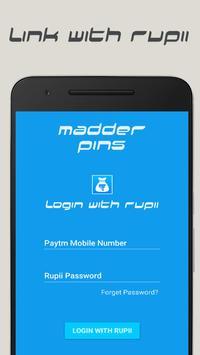 Madder Pins poster