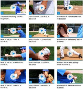 Baseball Pitches apk screenshot