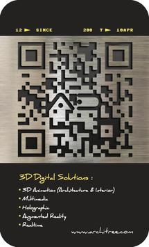 Architree AR Namecard poster