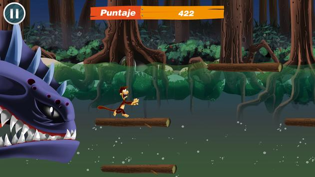 Piranha Run! screenshot 1