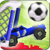 Cars Head Soccer Pixel icon