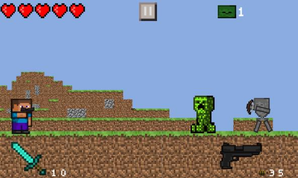 Steve Wars Craft Free screenshot 4