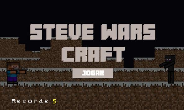 Steve Wars Craft Free poster