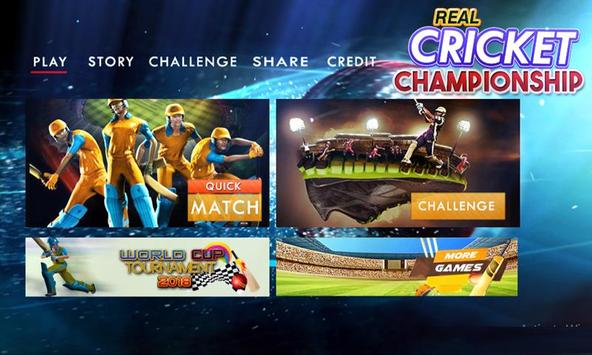 Real Cricket Championship poster