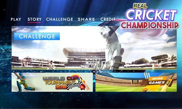 Real Cricket Championship screenshot 1