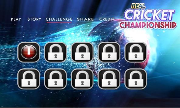Real Cricket Championship screenshot 2