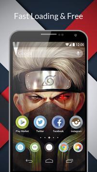 Ninja Konoha Wallpaper poster
